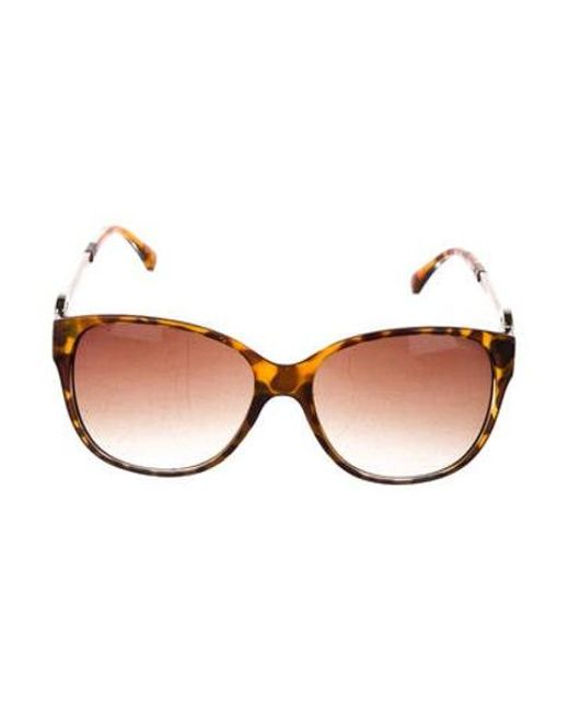 4d9beaafb1 Michael Kors - Brown Gradient Tortoiseshell Glasses - Lyst ...