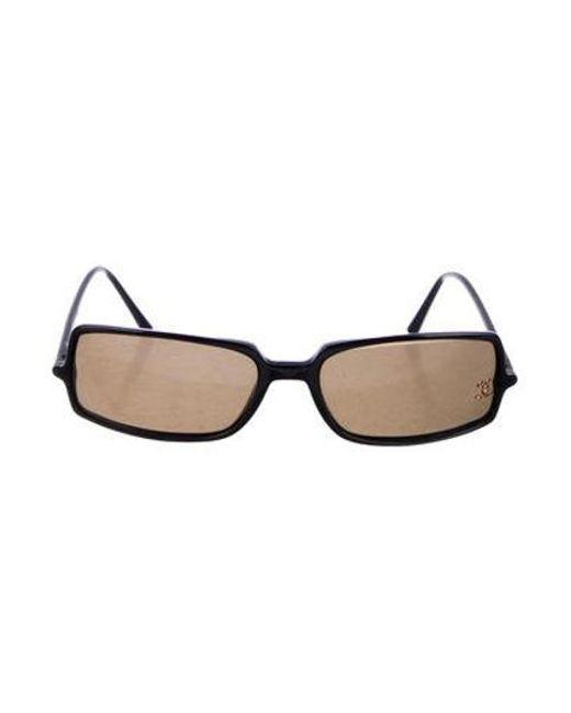 870b863d884a Chanel - Black Strass Cc Sunglasses - Lyst ...