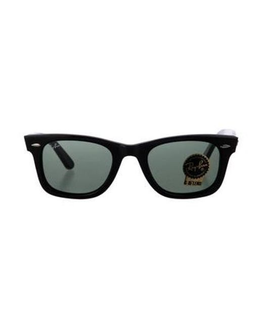 e23cc8fa049 Ray-Ban - Metallic Wayfarer Gradient Sunglasses W  Tags Black for Men - Lyst  ...