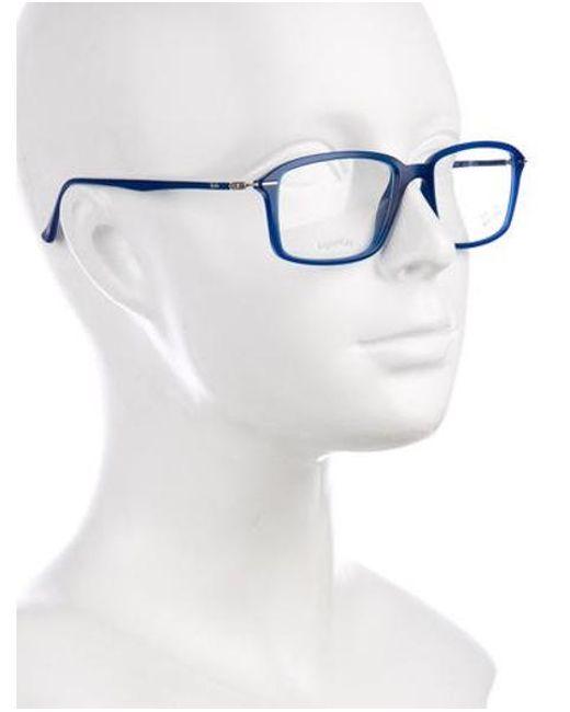 d9876440c5 ... Ray-Ban - Natural Lightray Rectangular Eyeglasses Clear for Men - Lyst