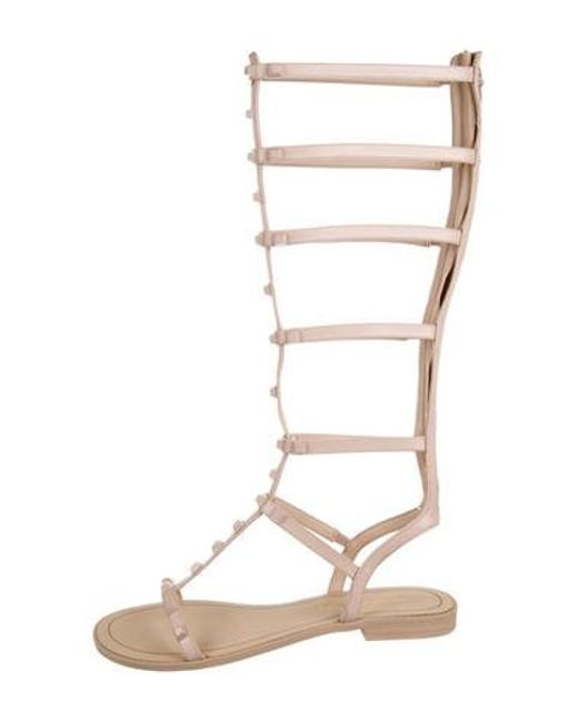 cd22b091fbf Rebecca Minkoff - Natural Giselle Gladiator Sandals Beige - Lyst ...
