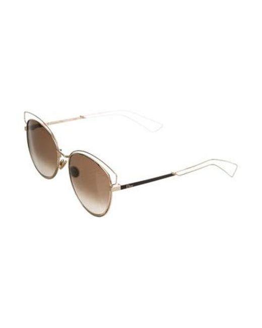 f8f53d213f ... Dior - Metallic Sideral 2 Tinted Sunglasses Gold - Lyst ...