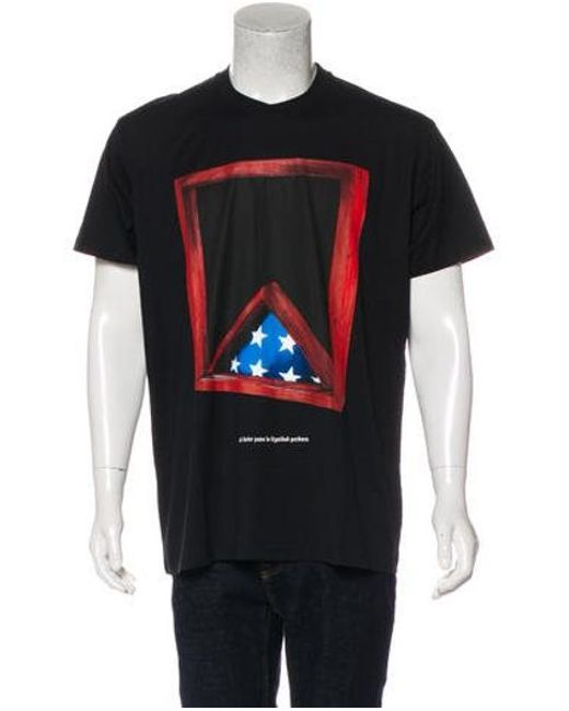 e8df272be Givenchy - Black Graphic Print T-shirt W  Tags for Men - Lyst ...