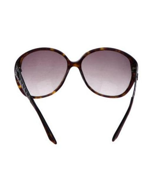 23488860eab2 ... Dior - Metallic Coquette 1 Tortoiseshell Sunglasses Brown - Lyst ...