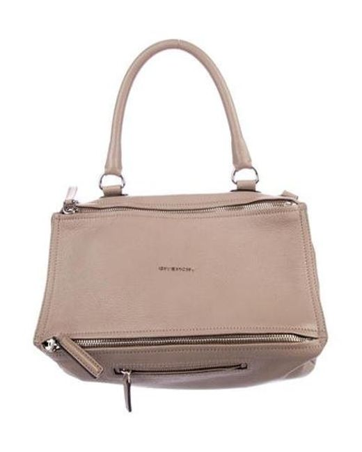38466328cccb Givenchy - Metallic Medium Pandora Bag Silver - Lyst ...