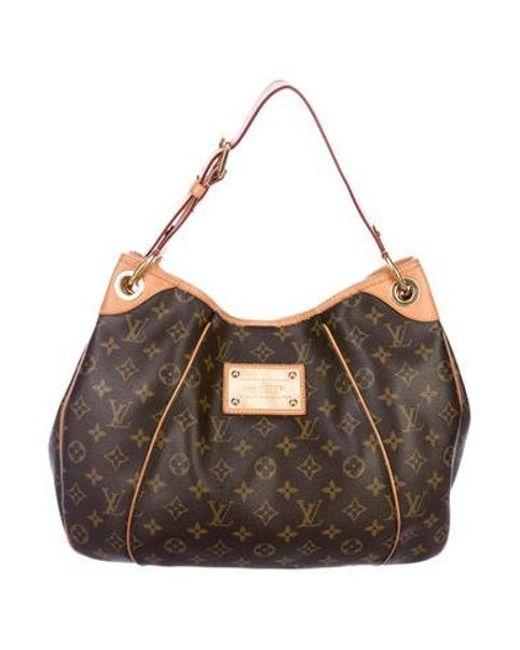 441e0ffa2128 Louis Vuitton - Natural Monogram Galliera Pm Brown - Lyst ...