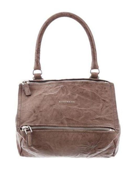 Givenchy - Metallic Medium Pandora Bag Brown - Lyst ... 98c4309904780