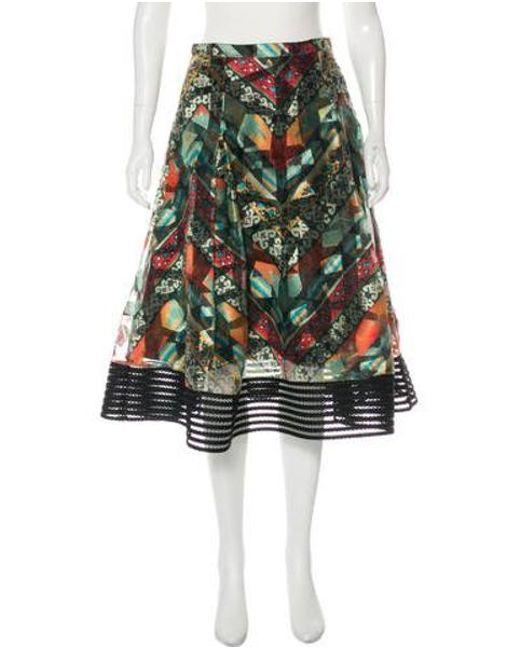f7e19a2af5 Sachin & Babi - Green Printed Midi Skirt - Lyst ...