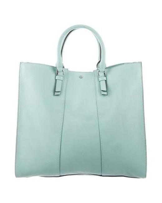 b8d1c370eca7 Tory Burch - Metallic Leather Shoulder Bag Silver - Lyst ...