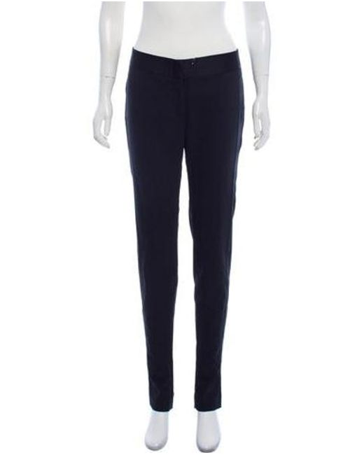 09d2d36c3c8d CoSTUME NATIONAL - Black Wool Straight-leg Pants W  Tags - Lyst ...