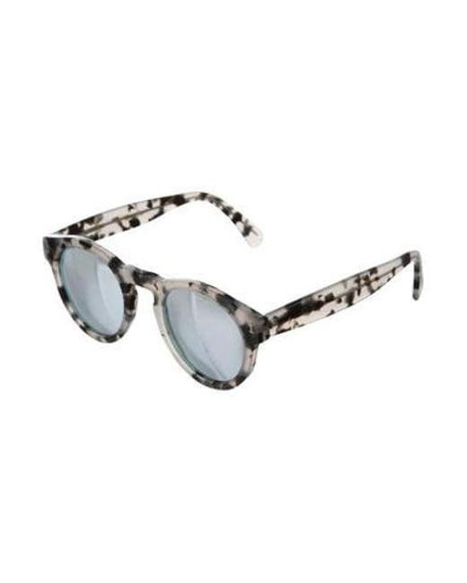 55812a45fe ... Illesteva - Gray Leona Tinted Sunglasses Grey - Lyst ...