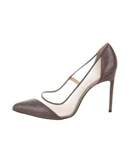 157ae51767 Bionda Castana - Natural Leather-trimmed Bay Pumps Multicolor - Lyst ...