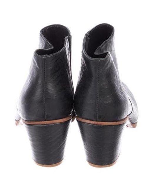 d7dd1ccafa34 ... Rachel Comey - Black Leather Ankle Boots - Lyst