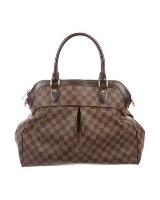Louis Vuitton - Natural Damier Ebene Trevi Gm Brown - Lyst