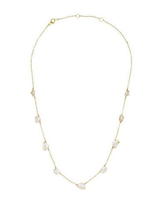 Alexis Bittar - Metallic 18k Golden Ice Maquis Quartz Necklace Yellow - Lyst