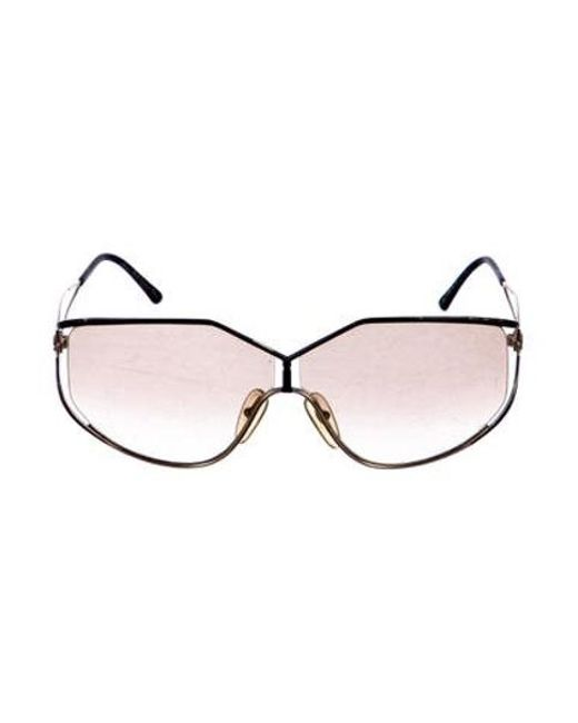 d27a868ebd4 Dior - Metallic Gradient Shield Sunglasses Gold - Lyst ...