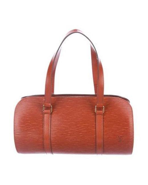 55769ee3989 Louis Vuitton - Metallic Epi Soufflot Bag Gold - Lyst ...