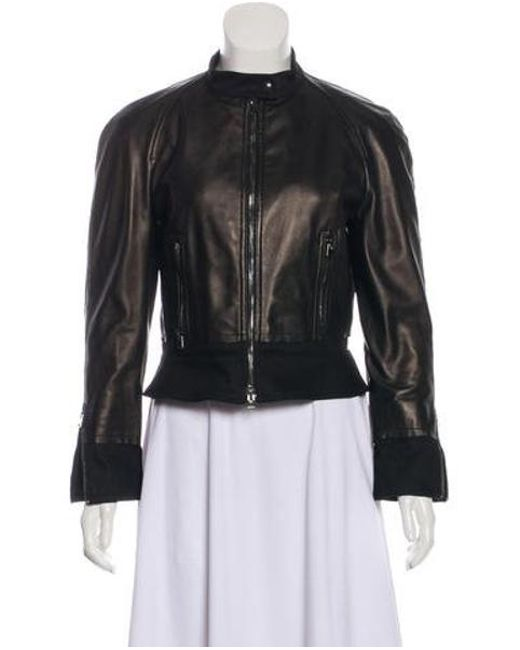1eeb43ce595 Tom Ford - Black Casual Leather Jackets - Lyst ...