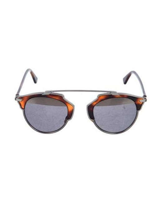 5de331a254 Dior - Brown 2017 Soreal Tortoiseshell Sunglasses - Lyst ...