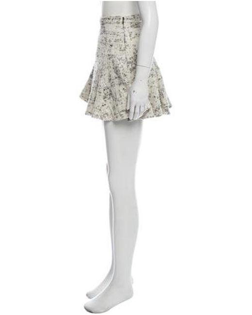 b8fa26d54 ... 10 Crosby Derek Lam - Black Tweed Mini Skirt - Lyst ...