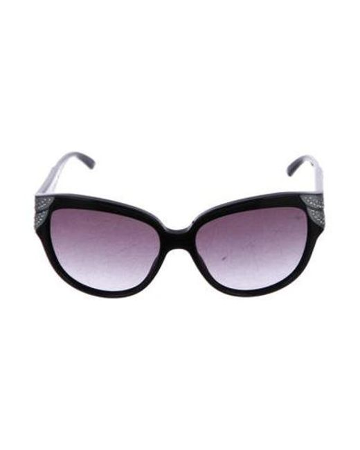 c22847232e1 Dior - Metallic Diorgrandbal Gradient Sunglasses Black - Lyst ...