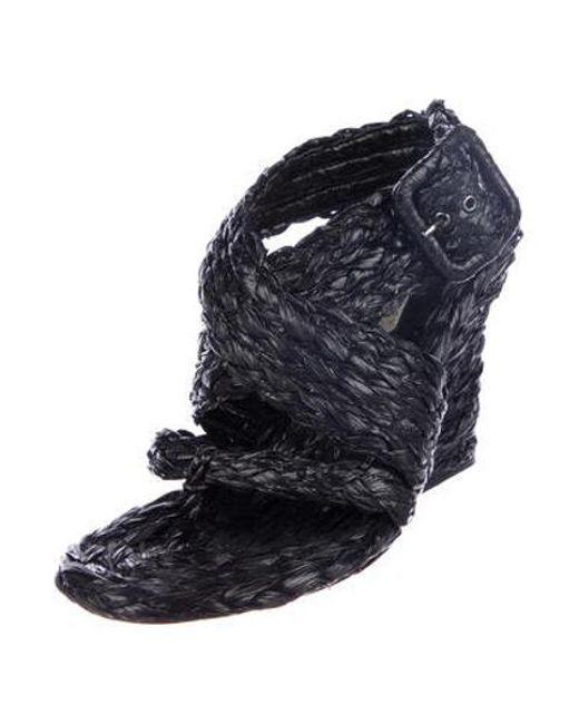 1146ba4104b ... Stella McCartney - Black Other Sandals - Lyst ...