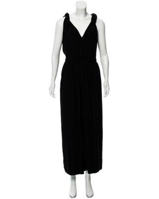 7fa26bbd3b5 Ulla Johnson - Black Sleeveless Wide-leg Jumpsuit - Lyst ...