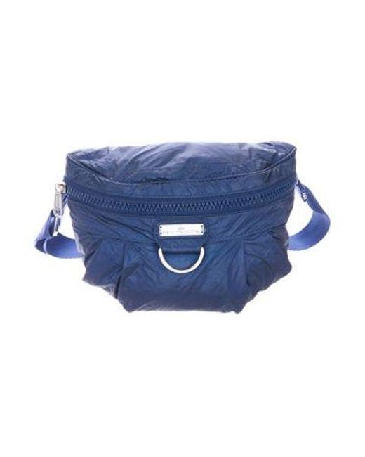 f4649c21b149 Adidas By Stella McCartney - Metallic Nylon Waist Bag Silver - Lyst ...