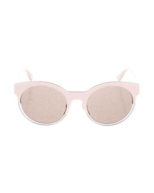 657258e07f Dior - Metallic Sideral 1 Sunglasses Pink - Lyst ...
