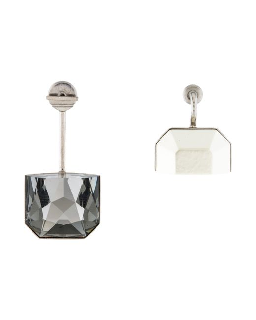 Dior | Metallic Set Earrings Silver | Lyst