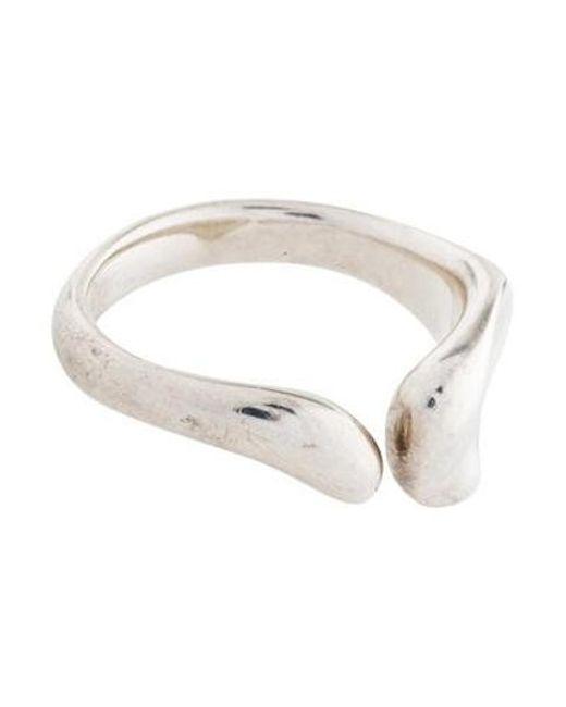 Tiffany & Co - Metallic Full Heart Ring Silver - Lyst