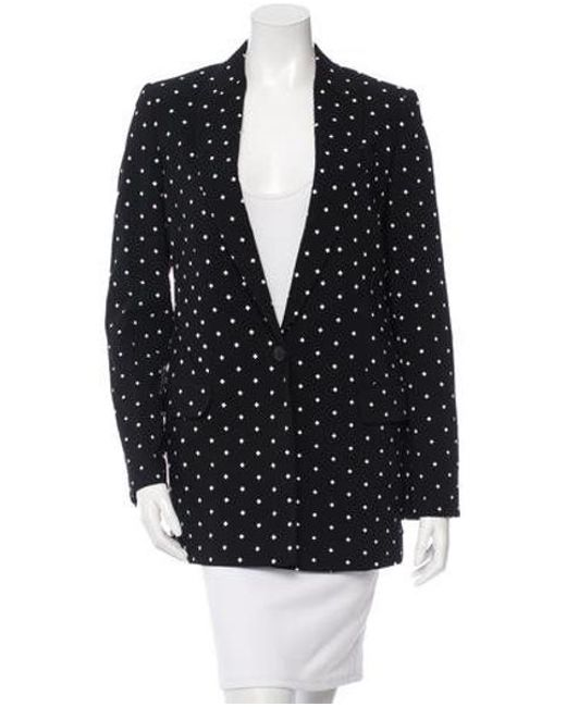 Givenchy - Black Cross Print Blazer - Lyst