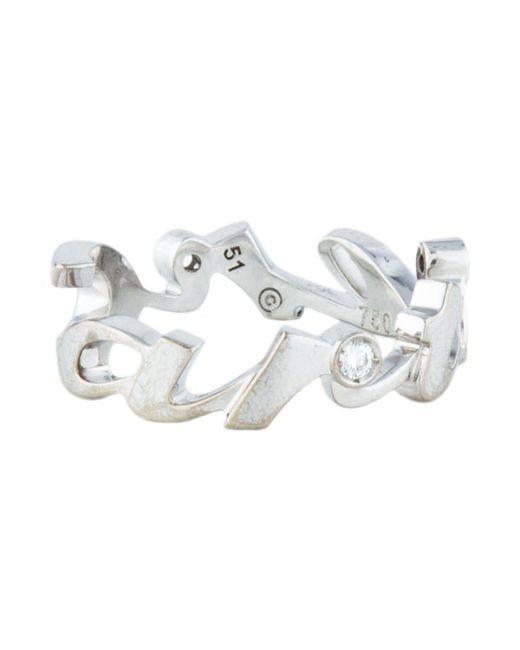 Cartier - Metallic Signature Diamond Ring White - Lyst
