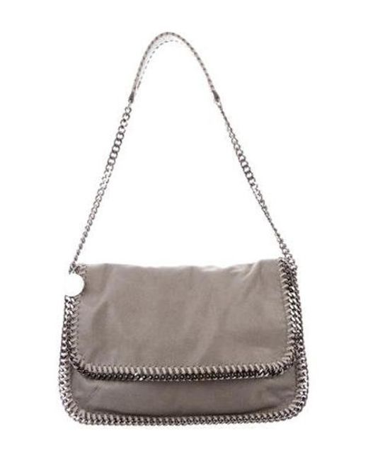 86d91641d4 Stella McCartney - Gray Falabella Shoulder Bag Grey - Lyst ...