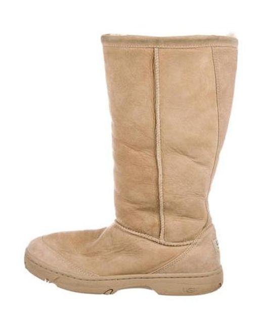 0e5e9c7a7c Ugg - Natural Suede Mid-calf Boots Tan - Lyst ...