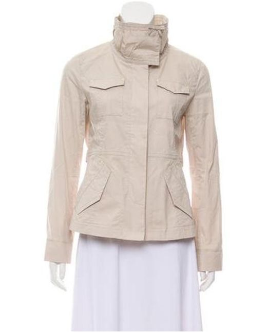e185c1491fac Sonia by Sonia Rykiel - Natural Sonia By Rykiel Lightweight Button-up Jacket  Neutrals ...