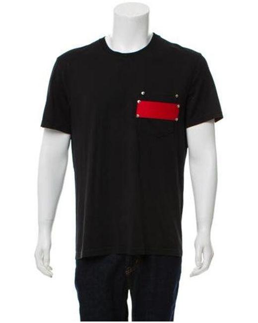 6bfcfe54d83f Givenchy - Black Pocket T-shirt for Men - Lyst ...