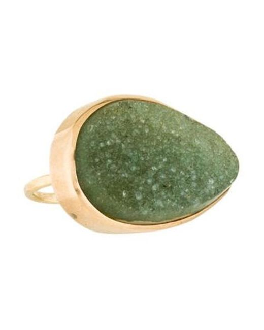 Melissa Joy Manning - Metallic 14k Druzy Cocktail Ring Yellow - Lyst