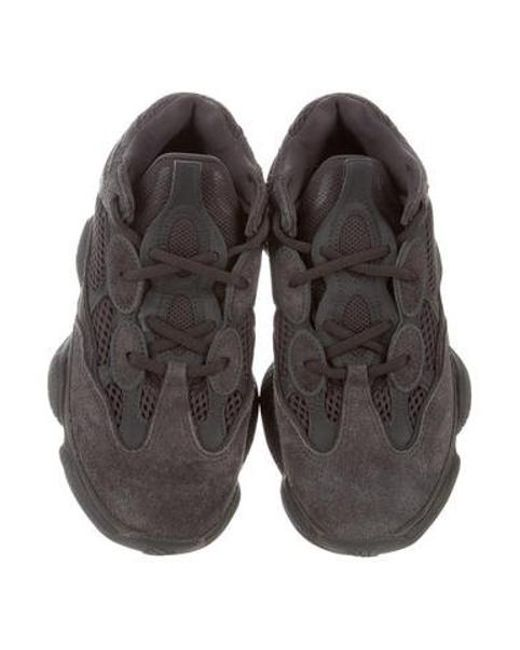 0eabedc9f ... Yeezy - Black 500 Utility Sneakers - Lyst ...