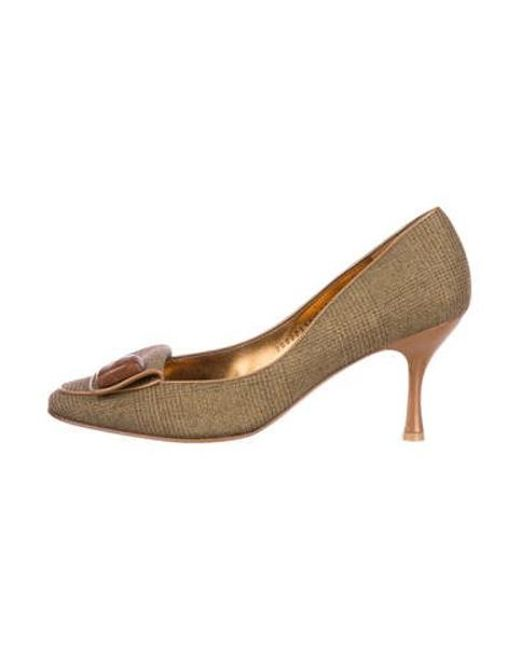 be38f324654 Women's Natural Tam Round-toe Pumps Brown