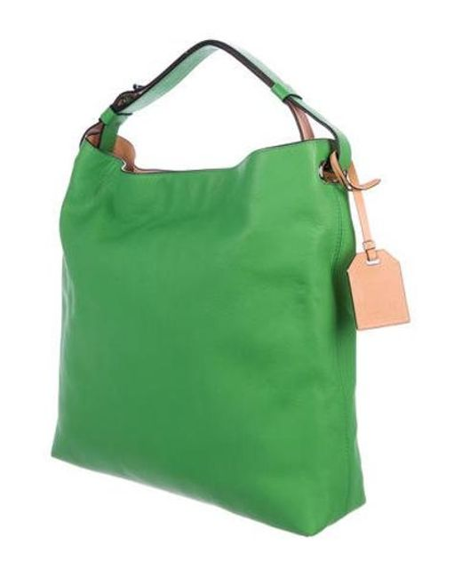 f1525afeac8f ... Reed Krakoff - Gray Rdk Leather Hobo W  Tags Green - Lyst ...
