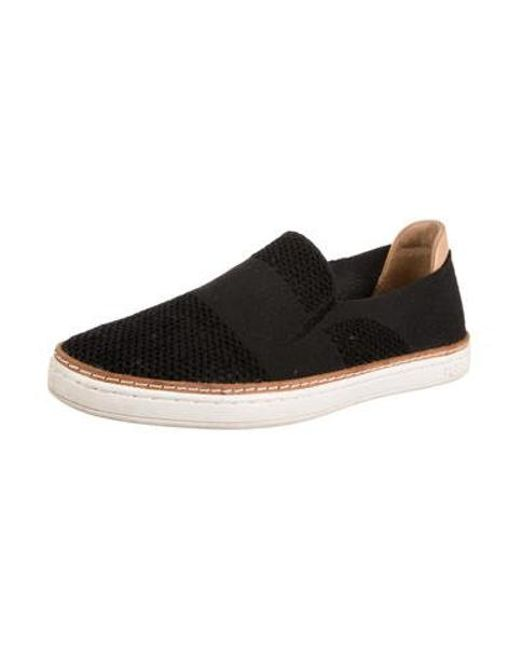 Lyst Ugg Knit Slip On Sneakers In Black Save 31818181818181813