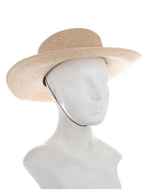 2e2ceb0f8ca ... Eugenia Kim - Natural Rebel Straw Hat W  Tags Beige - Lyst