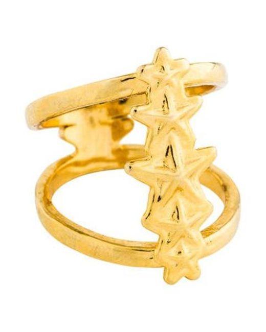 Pamela Love - Metallic Ursa Minor Ring Yellow - Lyst
