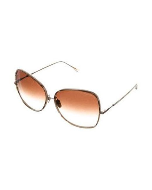 64624f7329dd ... Dita - Metallic Bluebird Two Sunglasses Brown - Lyst ...