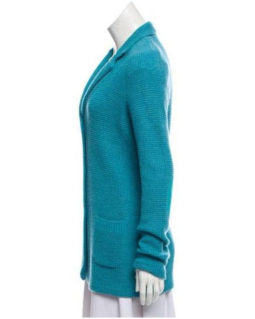 0975c0846 Lyst - Loro Piana Cashmere-blend Lightweight Cardigan Aqua in Blue