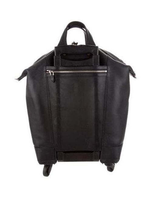 ... Givenchy - Metallic Nightingale Leather Trolley Black for Men - Lyst ... facfa74fc30ce