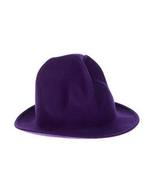 ca6fa7cfe5c Vivienne Westwood - Purple Vintage Mountain Hat Violet for Men - Lyst ...
