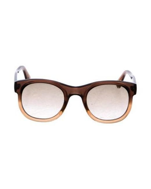 9659e8f2736a3 Tom Ford - Metallic Bachardy Gradient Sunglasses Brown for Men - Lyst ...