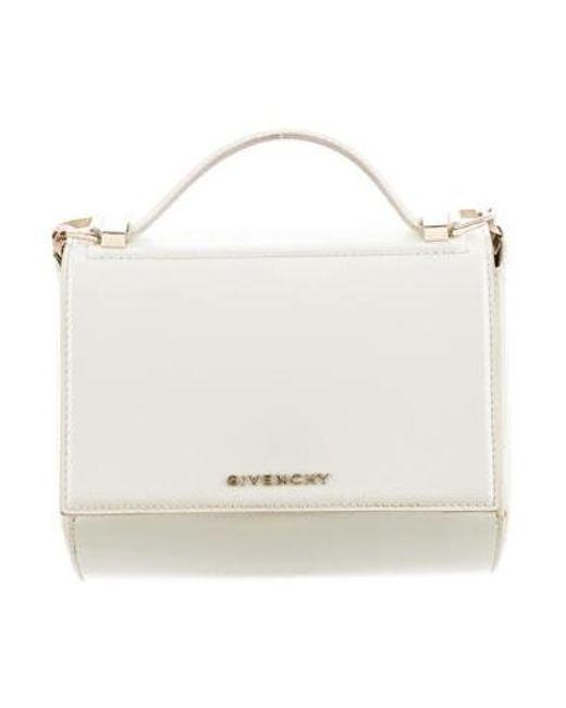 4a7b16db81c Givenchy - Metallic Mini Pandora Box Bag Gold - Lyst ...